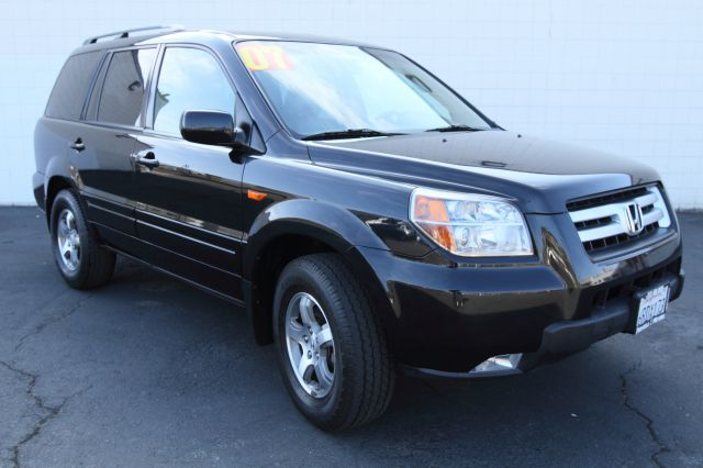 2007 HONDA PILOT EX-L 2WD W NAVIGATION formal black 2007 honda pilot ex l with navigation and dvd