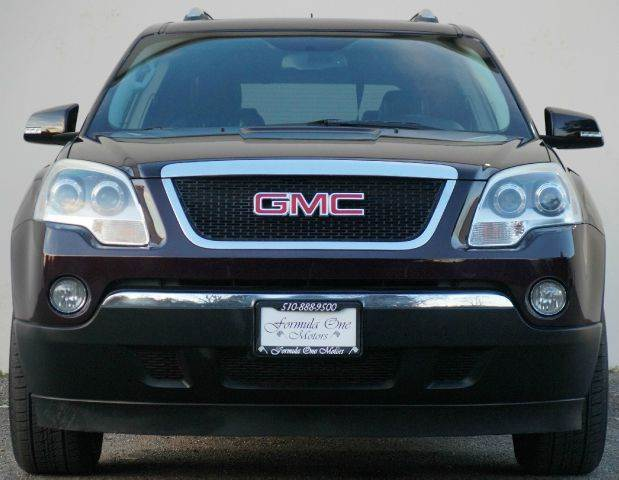 2009 GMC ACADIA SLT-2 AWD 4DR SUV dark crimson metallic 2-stage unlocking - remote 4wd type - fu