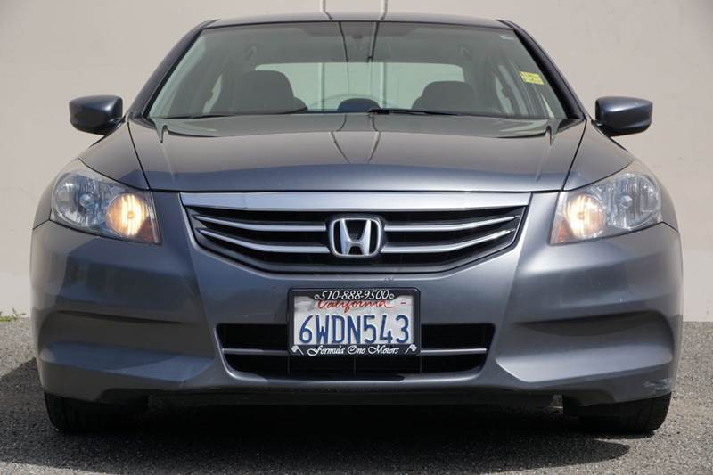 2012 HONDA ACCORD LX 4DR SEDAN 5A polished metal metallic abs - 4-wheel active head restraints -