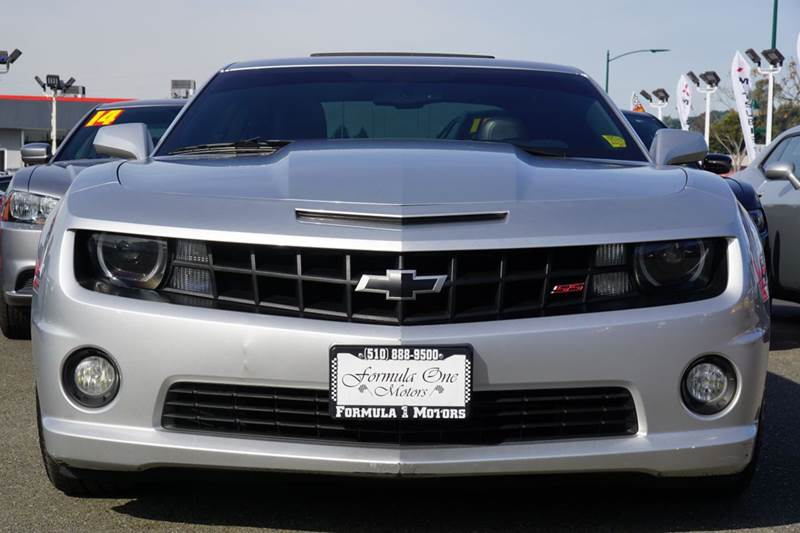 2012 CHEVROLET CAMARO SS 2DR COUPE W2SS silver ice metallic abs - 4-wheel active head restraint