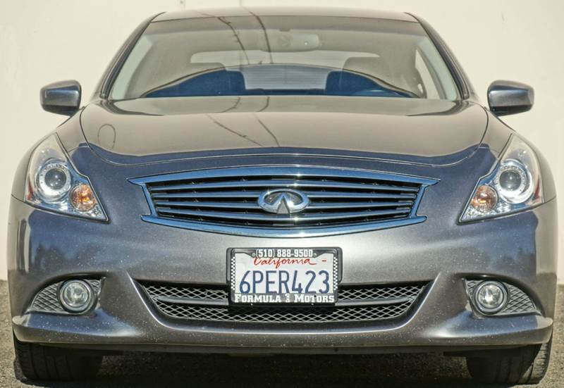 2011 INFINITI G37 SEDAN JOURNEY 4DR SEDAN graphite shadow 2-stage unlocking - remote abs - 4-whe