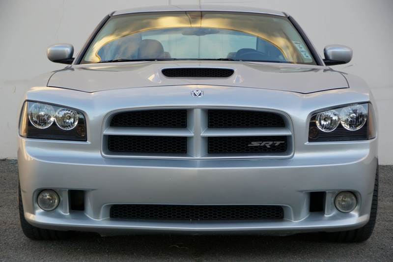 2009 DODGE CHARGER SRT8 4DR SEDAN bright silver metallic clearco 2-stage unlocking doors abs - 4