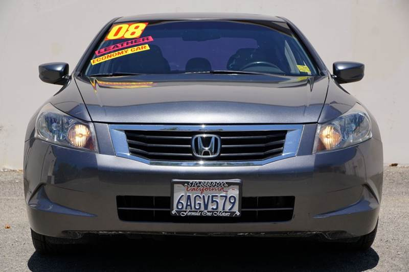 2008 HONDA ACCORD EX-L 4DR SEDAN 5A polished metal metallic abs - 4-wheel active head restraints