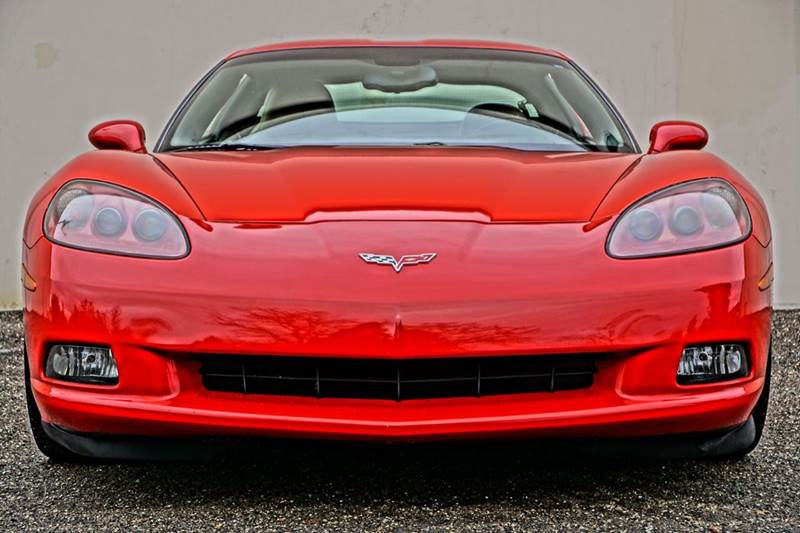 2007 CHEVROLET CORVETTE BASE 2DR COUPE victory red 2-stage unlocking doors abs - 4-wheel air fi