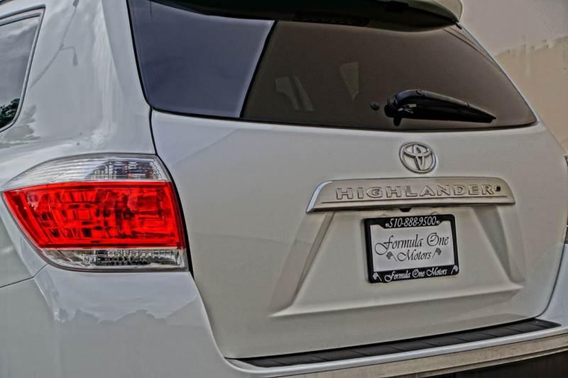 2012 Toyota Highlander 4dr SUV - Hayward CA
