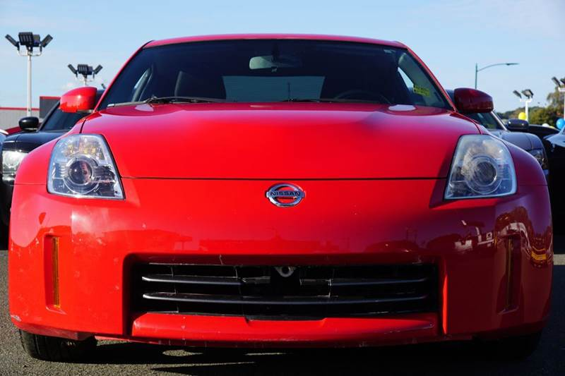2008 NISSAN 350Z BASE 2DR COUPE WS0 nogaro red 3 coat metallic 2-stage unlocking doors abs - 4-