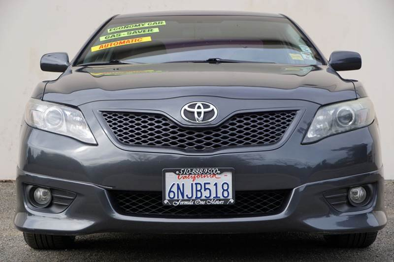 2010 TOYOTA CAMRY SE 4DR SEDAN 6A magnetic gray metallic 2-stage unlocking doors abs - 4-wheel
