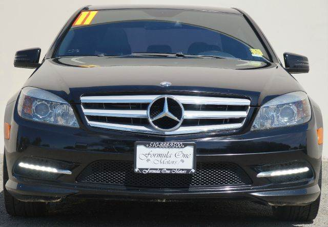 2011 MERCEDES-BENZ C-CLASS C300 SPORT 4DR SEDAN obsidian black metallic abs - 4-wheel active hea