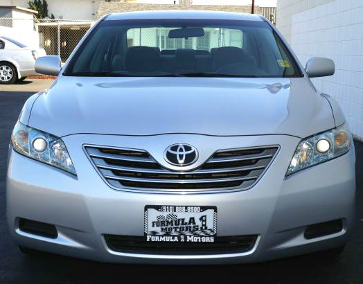 2008 TOYOTA CAMRY SEDAN classic silver metallic 2008 toyota camry hybrid automatic great gas mil