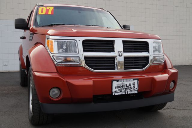 2007 DODGE NITRO SLT 4WD sunburst orange pearlcoat 2007 dodge nitro rt 4x4 striking exterior styl