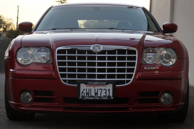 2007 CHRYSLER 300 SRT-8 4DR SEDAN inferno red crystal pearlcoat 67863 miles VIN 2C3LA73W27H7882
