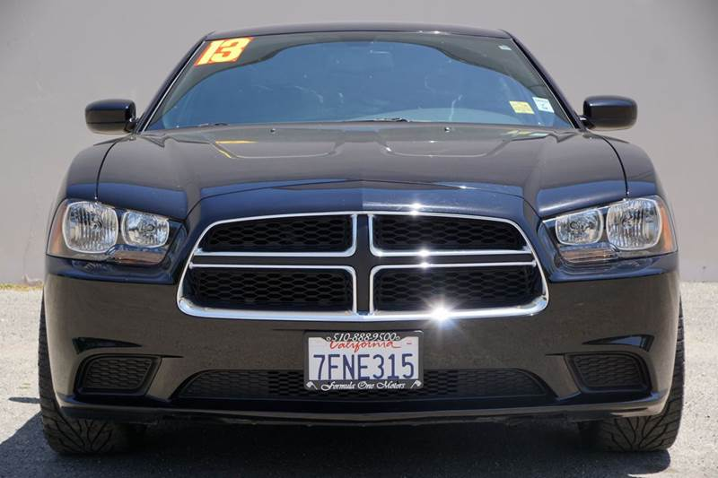 2013 DODGE CHARGER SE 4DR SEDAN pitch black 2-stage unlocking doors abs - 4-wheel active head re