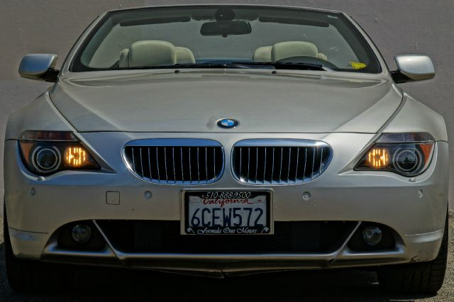 2007 BMW 6 SERIES 650I 2DR CONVERTIBLE mineral silver metallic 2-stage unlocking - remote abs -