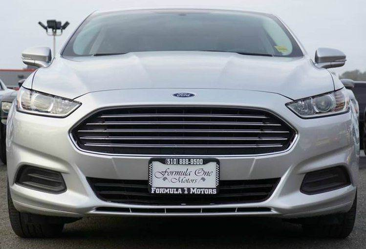 2014 FORD FUSION SE 4DR SEDAN ingot silver metallic 2-stage unlocking doors abs - 4-wheel air f