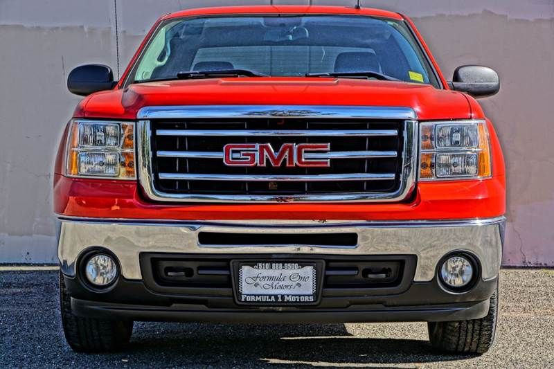 2013 GMC SIERRA 1500 SLE 4X4 4DR EXTENDED CAB 65 FT fire red 4wd selector - electronic hi-lo 4