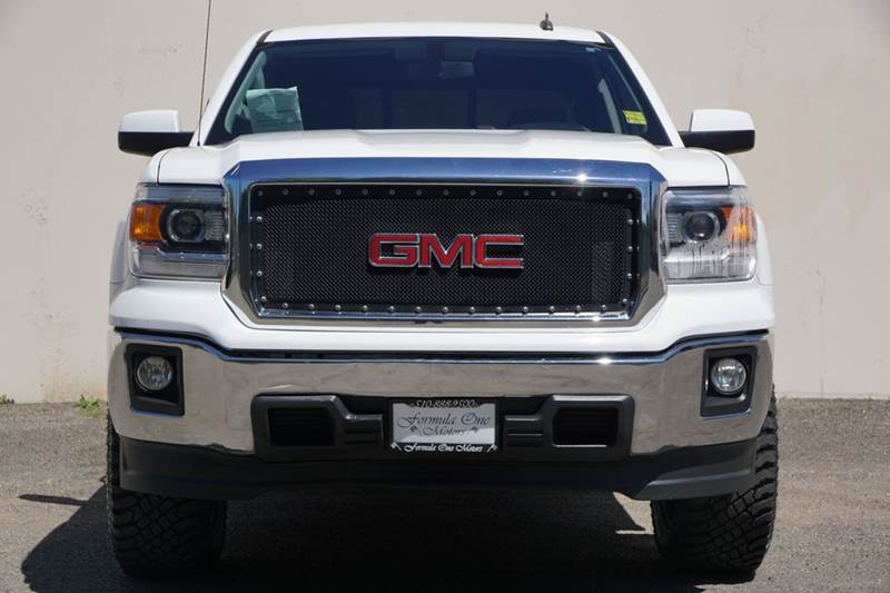 2014 GMC SIERRA 1500 SLE 4X2 4DR CREW CAB 58 FT SB quicksilver metallic abs - 4-wheel airbag d