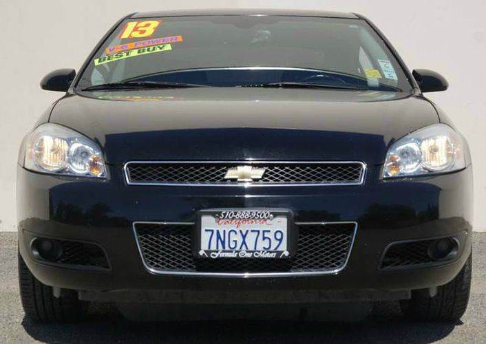 2013 CHEVROLET IMPALA LTZ 4DR SEDAN black 2-stage unlocking doors abs - 4-wheel air filtration