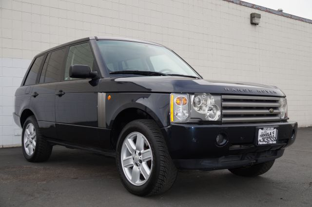 2004 LAND ROVER RANGE ROVER HSE adriatic blue adriatic blue hse with leather ivory interior 4 door