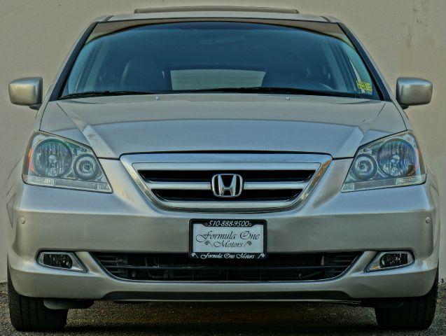 2006 HONDA ODYSSEY TOURING WNAVI WDVD 4DR MINIVAN silver pearl metallic abs - 4-wheel adjustabl