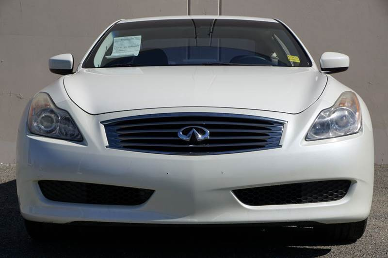 2008 INFINITI G37 JOURNEY 2DR COUPE ivory pearl abs - 4-wheel active head restraints - dual fron