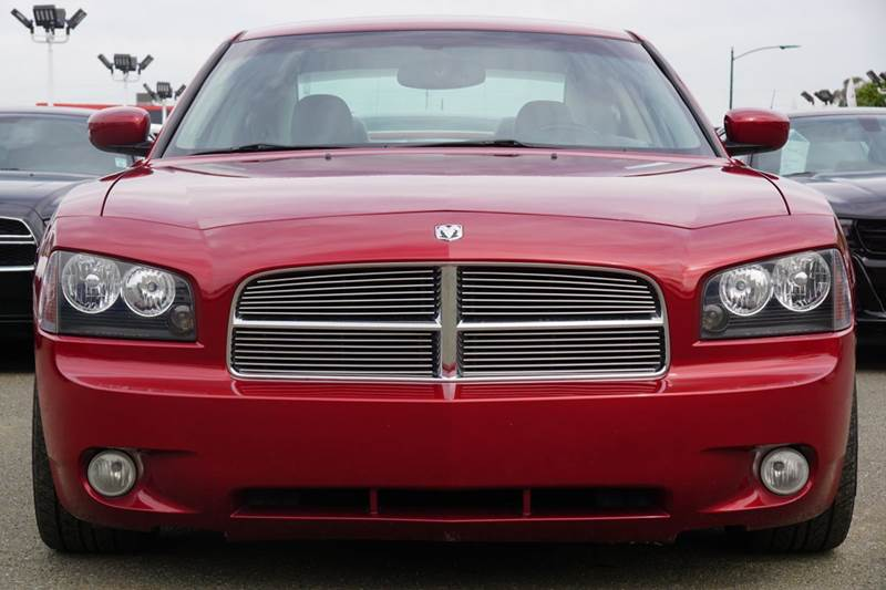 2006 DODGE CHARGER RT 4DR SEDAN inferno red crystal pearlcoat abs - 4-wheel adjustable pedals -