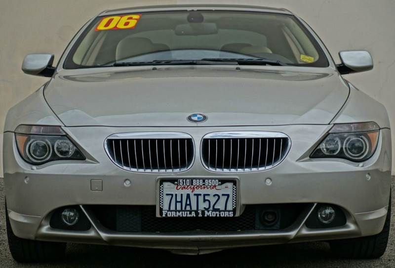 2006 BMW 6 SERIES 650I 2DR COUPE kalahari beige metallic abs - 4-wheel active suspension air fi