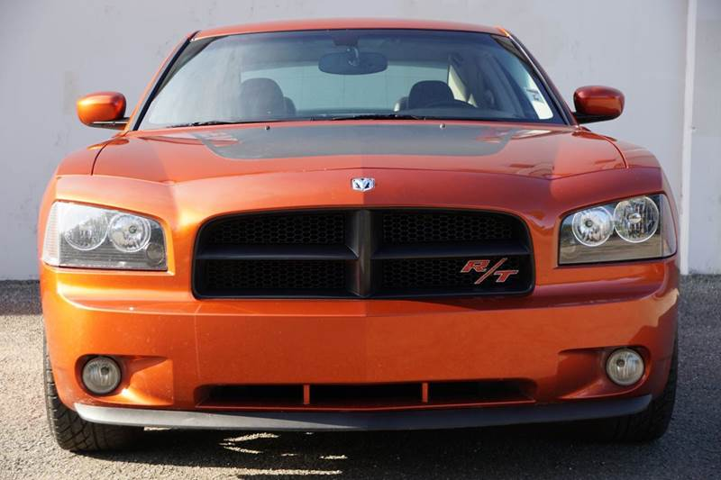2006 DODGE CHARGER RT 4DR SEDAN go mango abs - 4-wheel adjustable pedals - power airbag deacti
