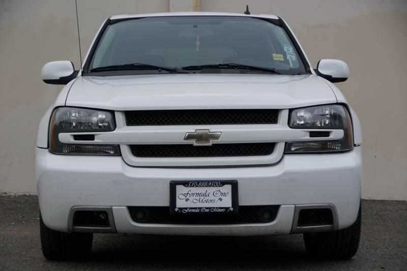 2008 CHEVROLET TRAILBLAZER SS 4X2 4DR SUV summit white abs - 4-wheel airbag deactivation - occup