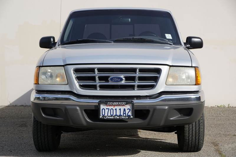 2001 FORD RANGER XLT 2DR SUPERCAB 2WD FLARESIDE S silver automaticv6 extended cab perfect truc