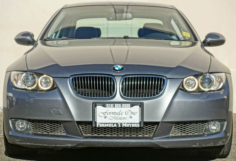 2007 BMW 3 SERIES 335I 2DR COUPE sparkling graphite metallic 2-stage unlocking - remote abs - 4-