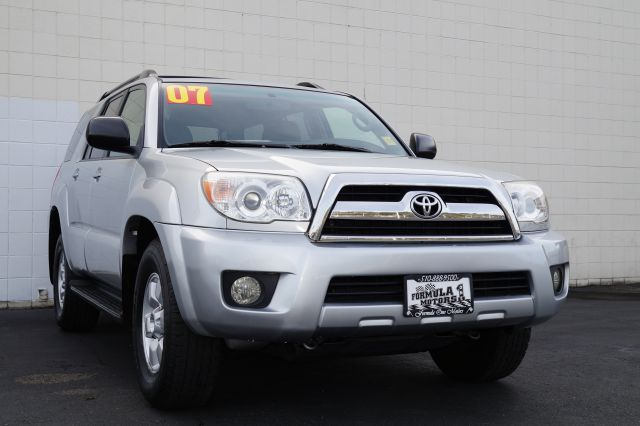 2007 TOYOTA 4RUNNER SR5 2WD titanium metallic titanium metallic 2wd 4 runner with dark charcoal in