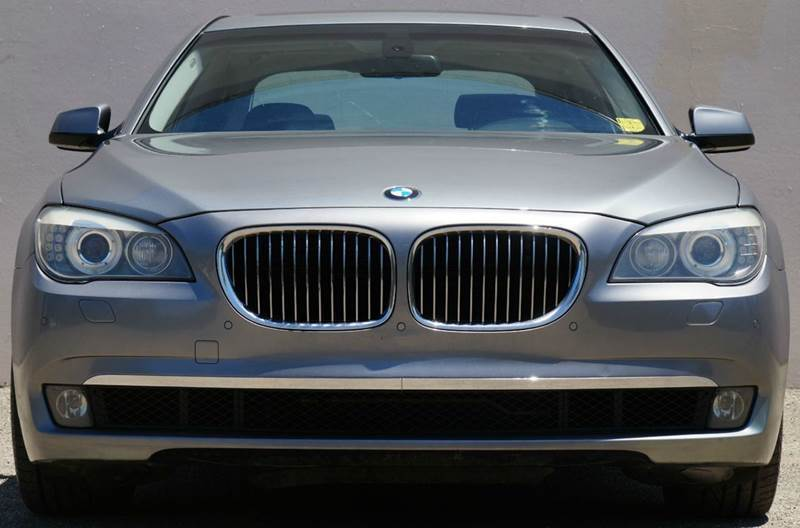 2009 BMW 7 SERIES 750LI 4DR SEDAN space gray metallic the 7 series new twin-turbo v8 is a marvelo