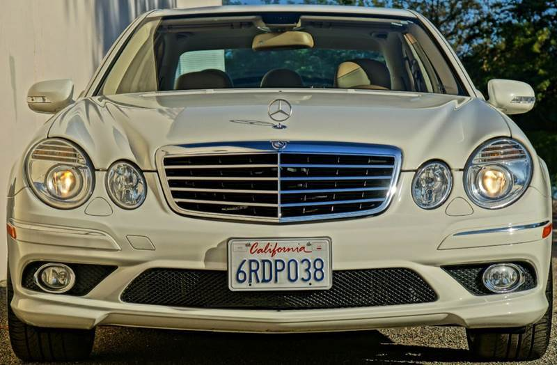 2009 MERCEDES-BENZ E-CLASS E350 4DR SEDAN arctic white arctic white 2009 mercedes e350 amg packag