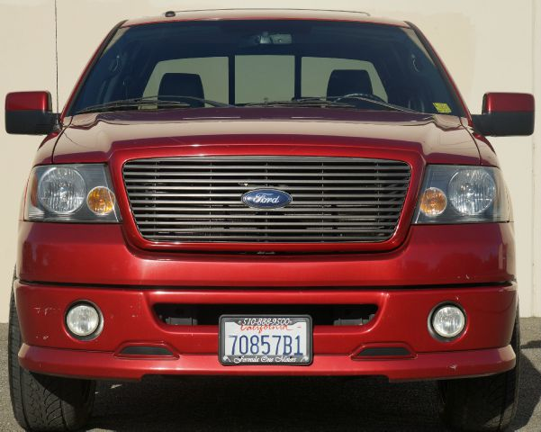 2007 FORD F-150 FX2 4DR SUPERCREW STYLESIDE 55 bright red clearcoat 2-stage unlocking - remote