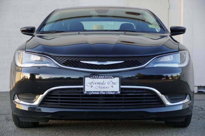 2015 CHRYSLER 200 LIMITED 4DR SEDAN unspecified abs - 4-wheel active grille shutters air filtra