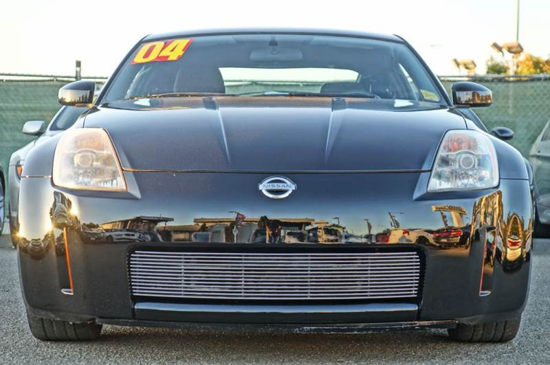 2004 NISSAN 350Z BASE 2DR COUPE super black abs - 4-wheel anti-theft system - alarm center cons