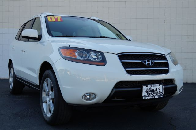 2007 HYUNDAI SANTA FE LIMITED arctic white 4 doorair conditioningalloy wheelsamfm radioantilo