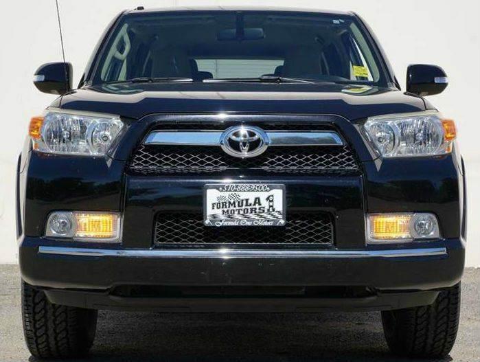 2010 TOYOTA 4RUNNER SR5 4X2 4DR SUV 40L V6 black abs - 4-wheel active head restraints - dual