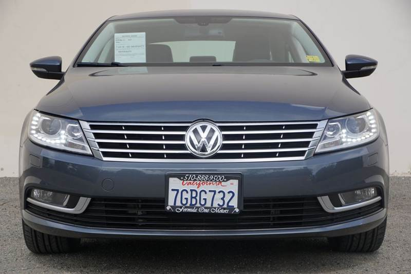 2014 VOLKSWAGEN CC SPORT PZEV 4DR SEDAN 6A island gray metallic 2-stage unlocking doors abs - 4-w