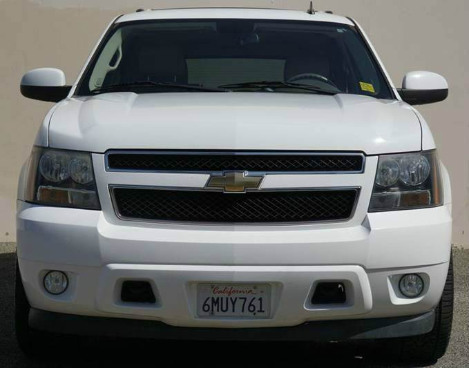 2011 CHEVROLET SUBURBAN LT 1500 4X4 4DR SUV summit white 2-stage unlocking doors 4wd type - part