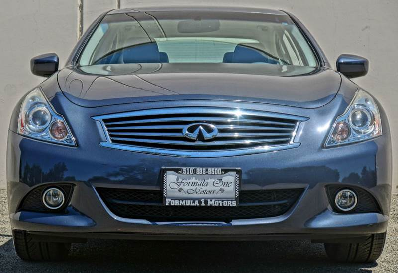 2012 INFINITI G25 SEDAN JOURNEY 4DR SEDAN blue slate 2-stage unlocking - remote abs - 4-wheel a
