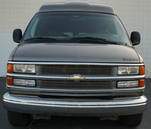 2000 CHEVROLET EXPRESS medium bronzemist metallic medium bronze mist metallic conversion van with