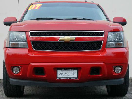 2007 CHEVROLET AVALANCHE LT 1500 4DR CREW CAB 4WD SB sport red metallic 2-stage unlocking - remote