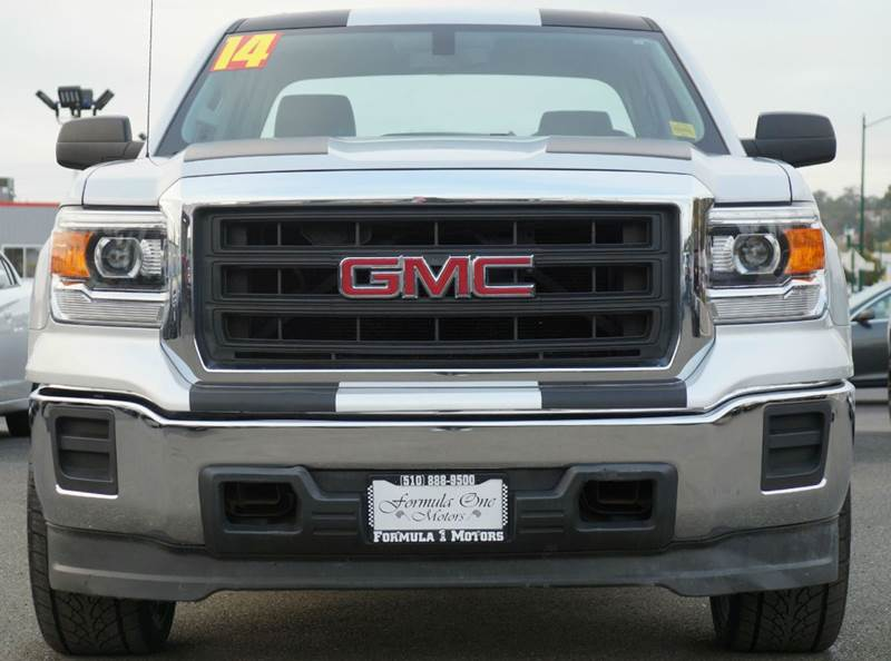 2014 GMC SIERRA 1500 BASE 4X2 4DR DOUBLE CAB 65 FT quicksilver metallic abs - 4-wheel airbag d