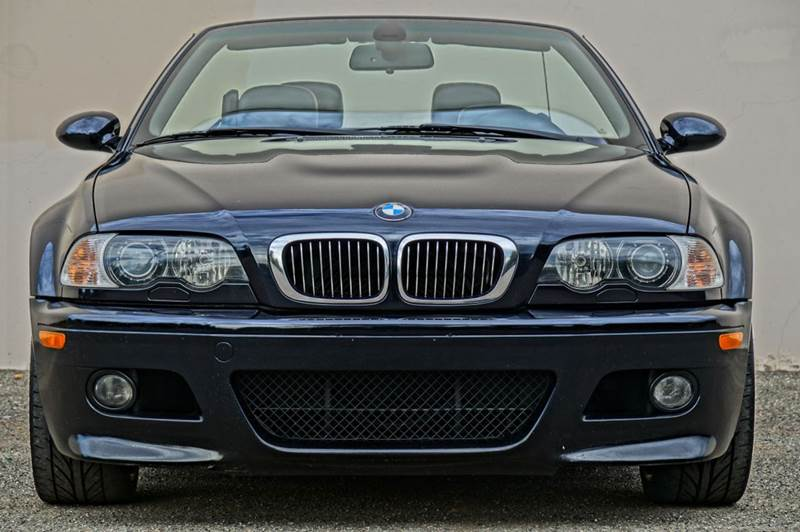2005 BMW M3 BASE 2DR CONVERTIBLE dark blue soft top this bmw m3 is a performace street and track