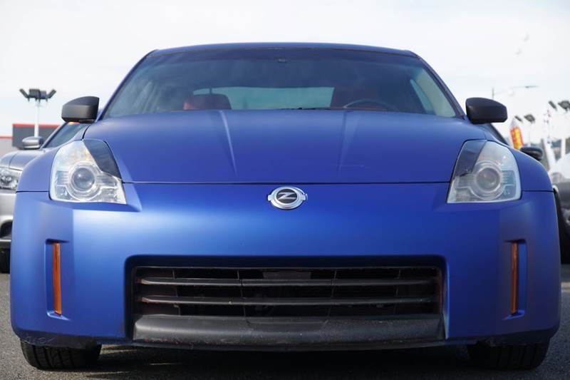 2006 NISSAN 350Z ENTHUSIAST 2DR COUPE 35L V6 5A matte blue abs - 4-wheel airbag deactivation -