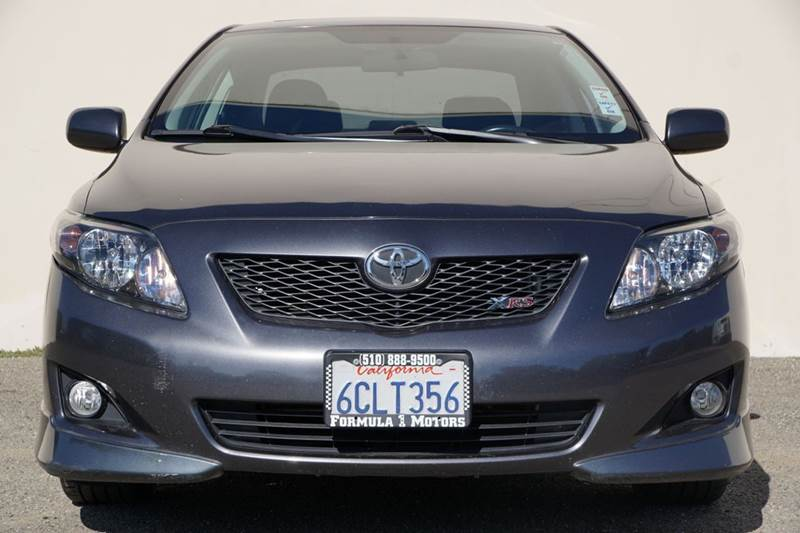 2009 TOYOTA COROLLA XRS 4DR SEDAN 5A unspecified 2-stage unlocking doors abs - 4-wheel active h