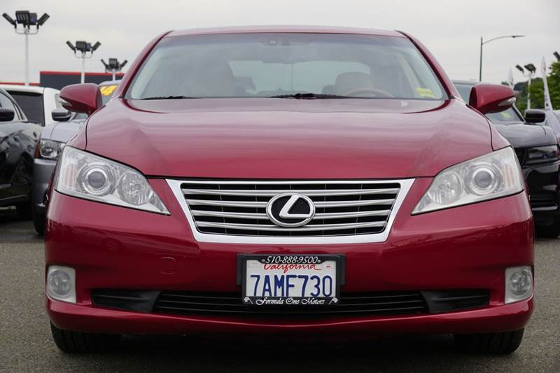 2010 LEXUS ES 350 BASE 4DR SEDAN matador red mica abs - 4-wheel air filtration airbag deactivat