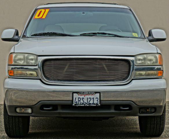 2001 GMC YUKON SLT 4WD 4DR SUV summit white abs - 4-wheel anti-theft system - alarm axle ratio -