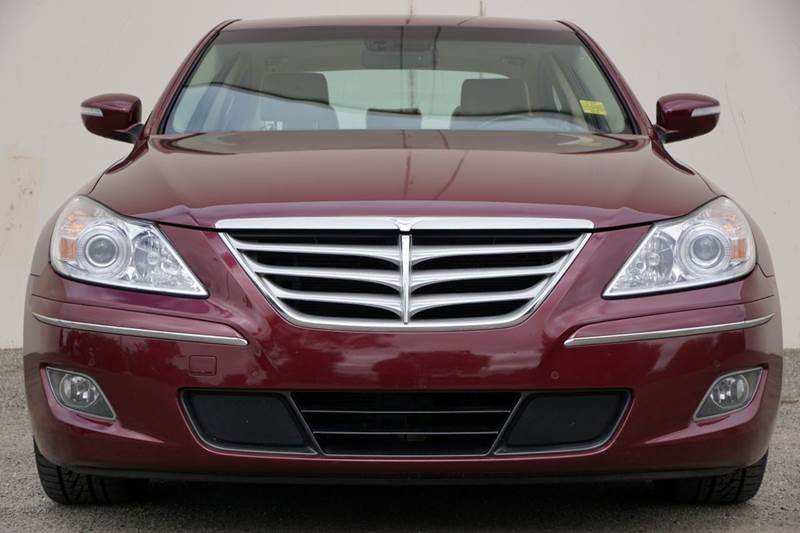 2011 HYUNDAI GENESIS 46L V8 4DR SEDAN cabernet red pearl 2-stage unlocking doors abs - 4-wheel